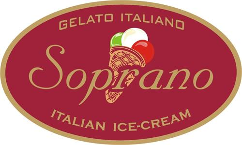 Soprano Ice Cream Logo
