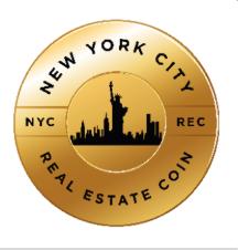 New York City Real Estate Coin Logo